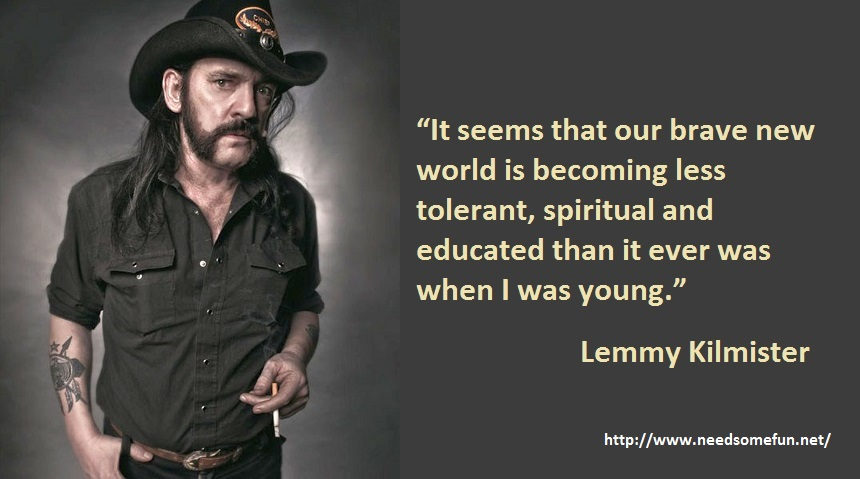 20 Significant Lemmy Kilmister Quotes With Lemmy Photos